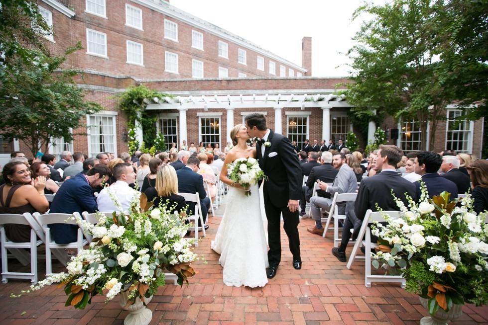 Having a First Look - Wedding Photographers in Philadelphia
