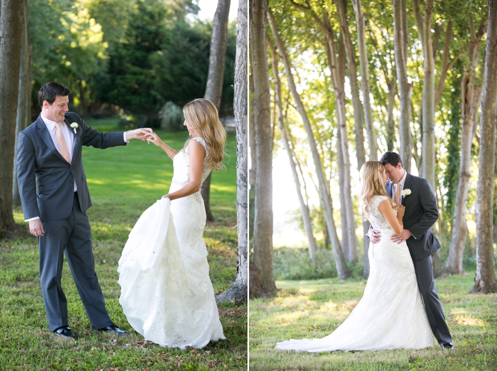 Having a First Look - Philadelphia Wedding Photography