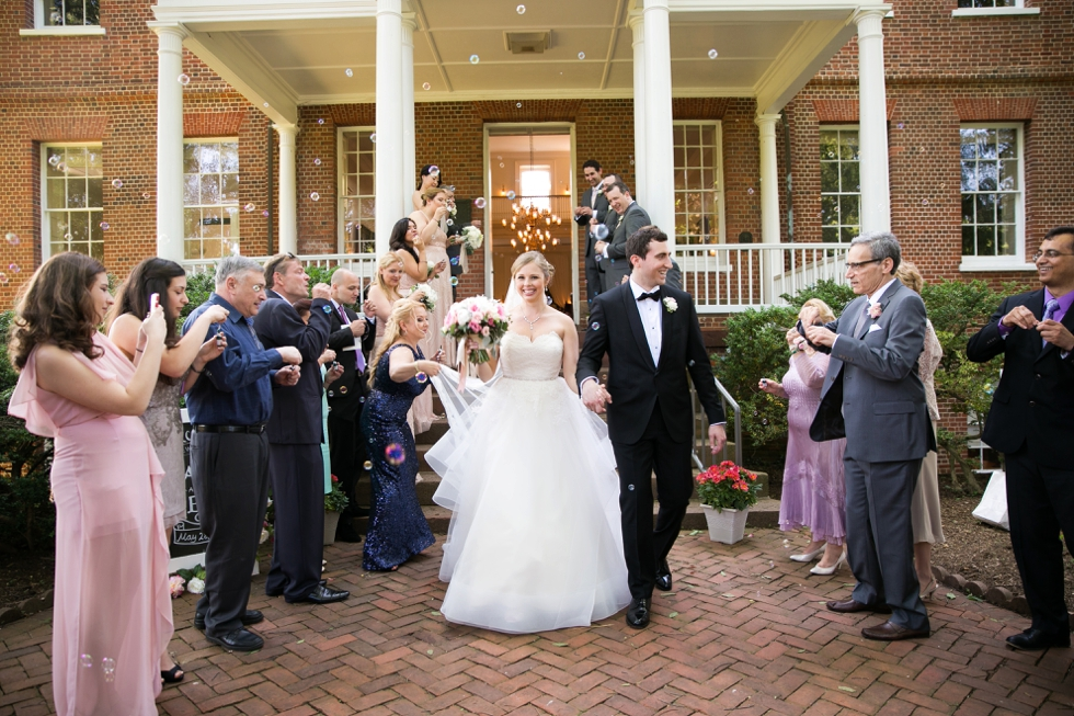 Having a First Look - Wedding Photographers in Annapolis