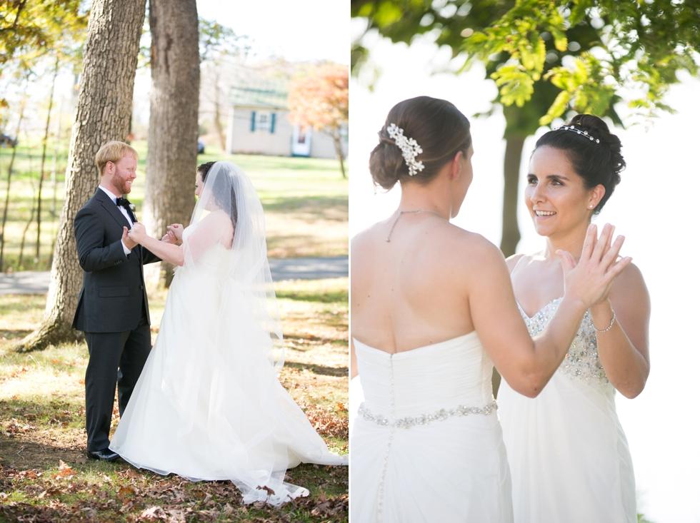 Having a First Look - LGBTQ Wedding Photographers in Philadelphia