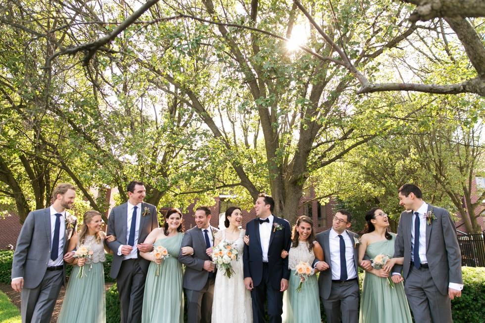 Philadelphia Wedding Photographer - BHLDN - Lovely Bride Philadelphia Wedding Dress