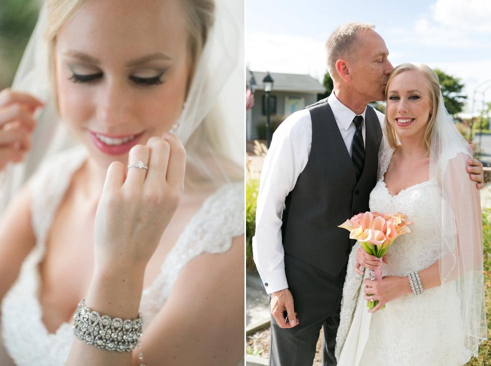 Wedding photographer in Philadelphia - Silver Swan Bayside Bridal prep