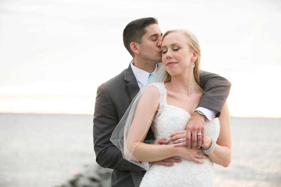 Eastern Shore Wedding Photographer - Silver Swan Bayside Sunset beach photos