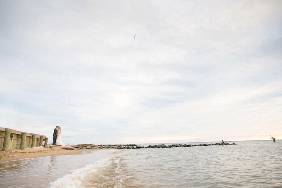 Jersey Shore Wedding Photographer - Silver Swan Bayside Sunset beach photos