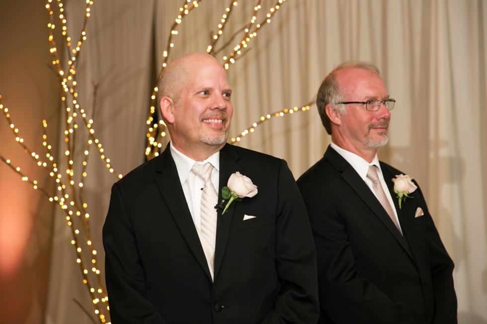 Annapolis Maryland Wedding Photographers - Westin Hotel Indoor Ceremony