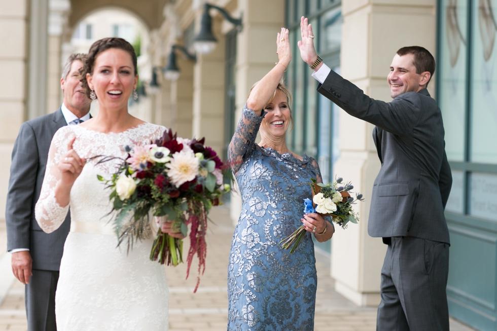 Wren Bridal Dress - Westin Hotel Philadelphia Wedding Photography