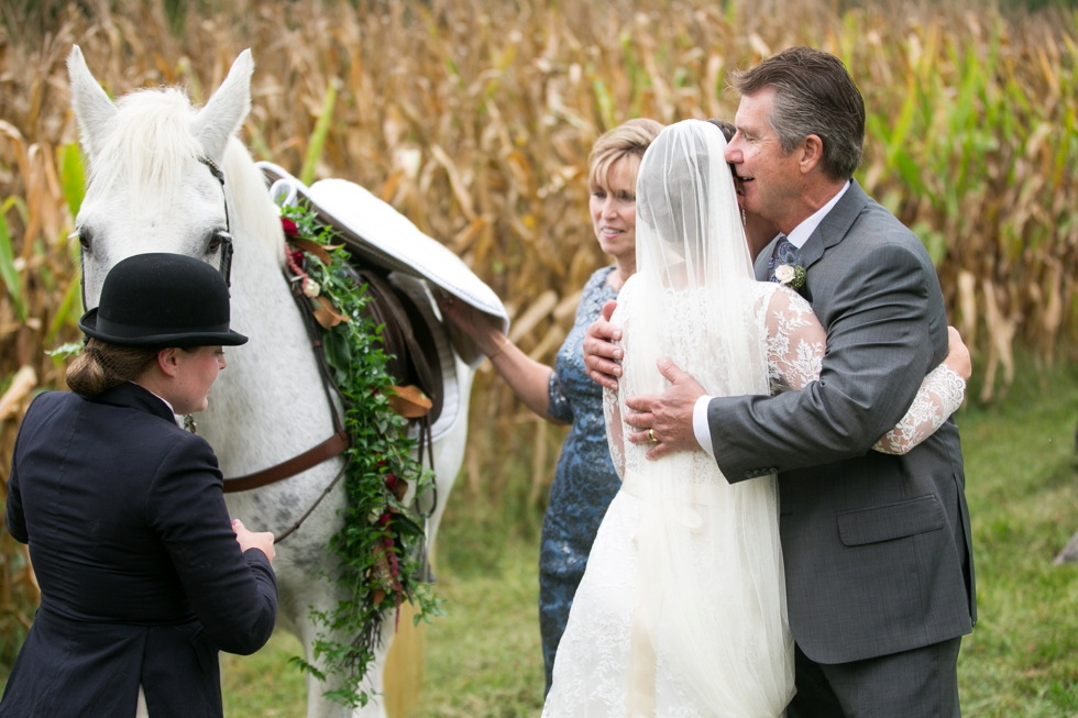 Surprise Horse - Philadelphia Farm Wedding Photography
