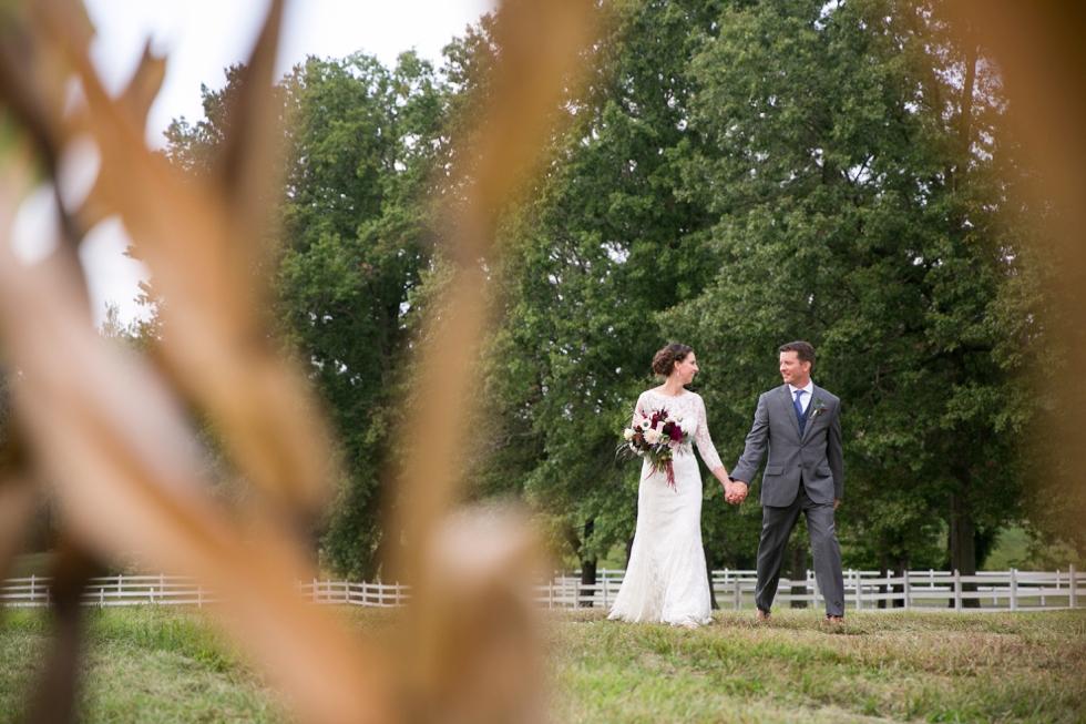 Timberlake Farm Ranch Wedding Photographs - My Flower Box Maryland