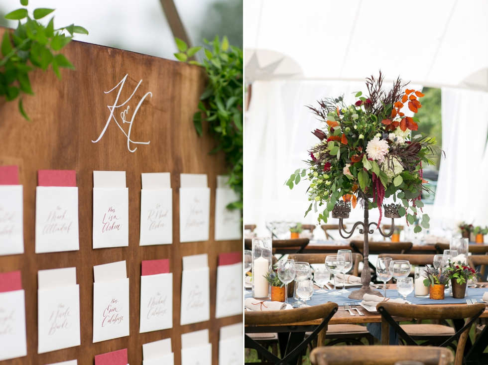 Timberlake Farm Wedding - Lauren Niles Event - Poppy and Scooter Calligraphy
