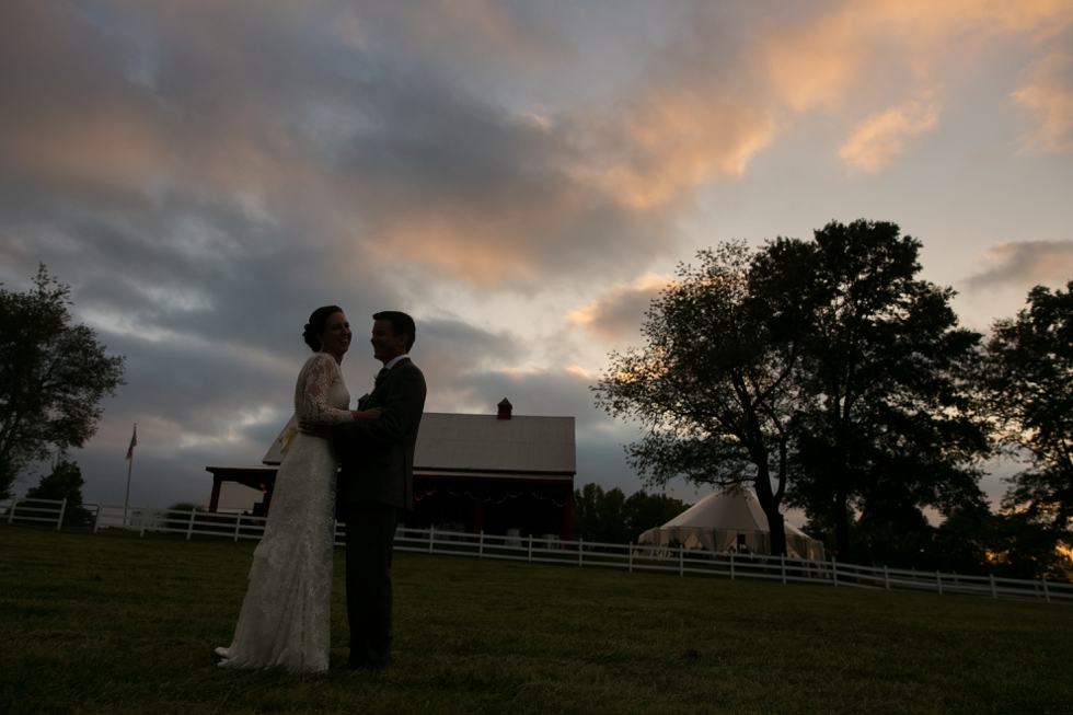 Ranch Reception Wedding - Philadelphia wedding photographers