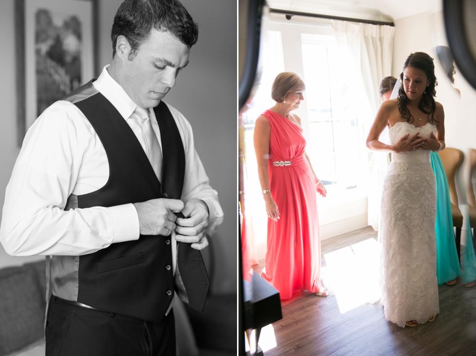 The Inn at the Chesapeake Bay Beach Club - Philadelphia Wedding -Bridals By Elena