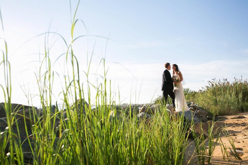 The Inn at the Chesapeake Bay Beach Club Wedding Photographer from Philadelphia