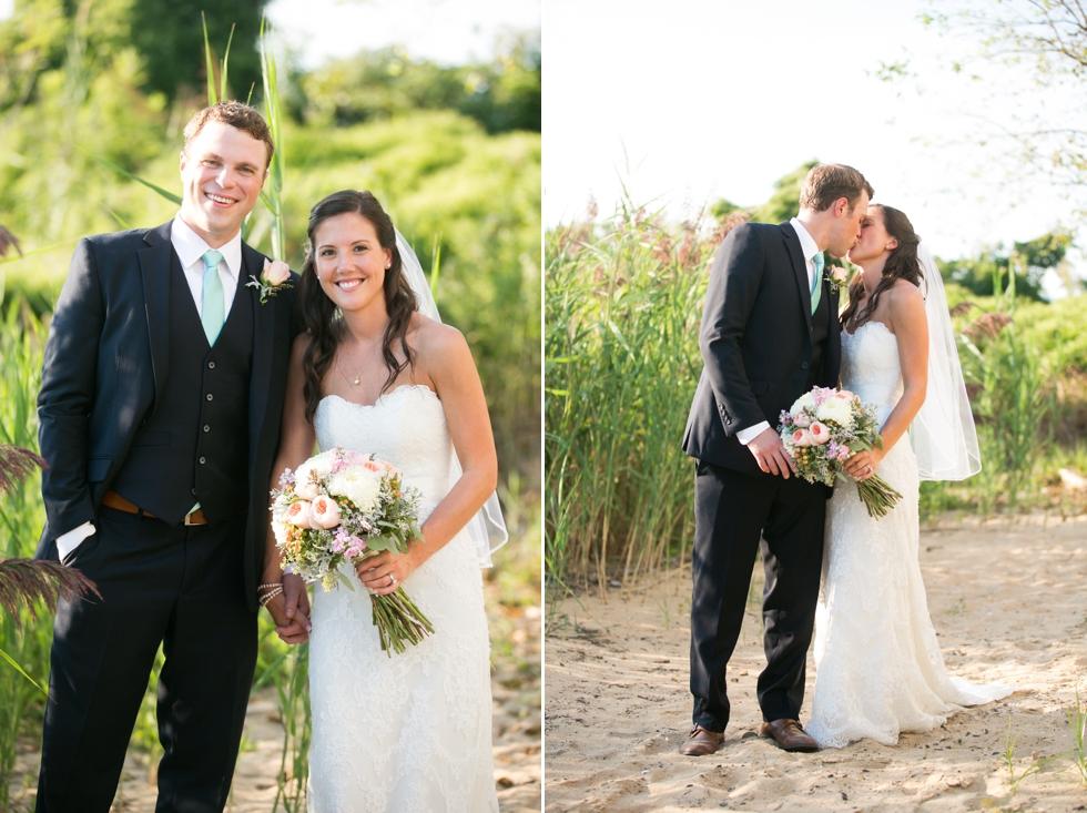 Sunset Chesapeake Bay Beach Club - Wedding Photographer from Philadelphia