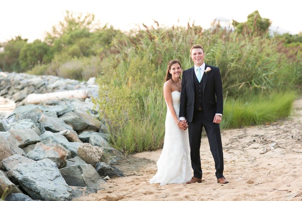 Sunset Beach Wedding Photos - Philly Wedding Photographer