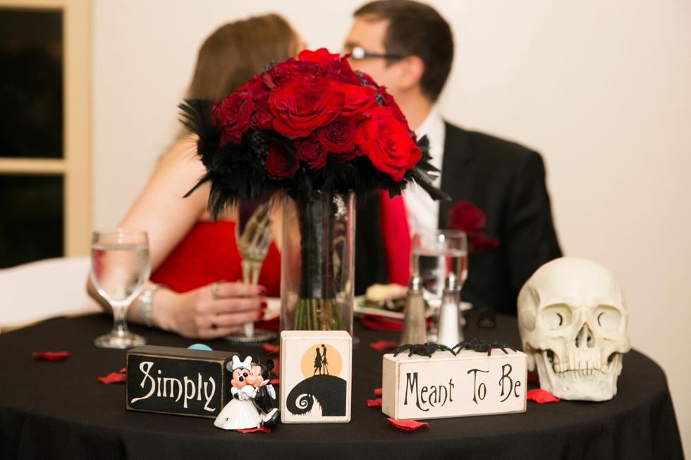 Traveling Bucks County wedding photographers - Indoor Rainy Wedding Reception