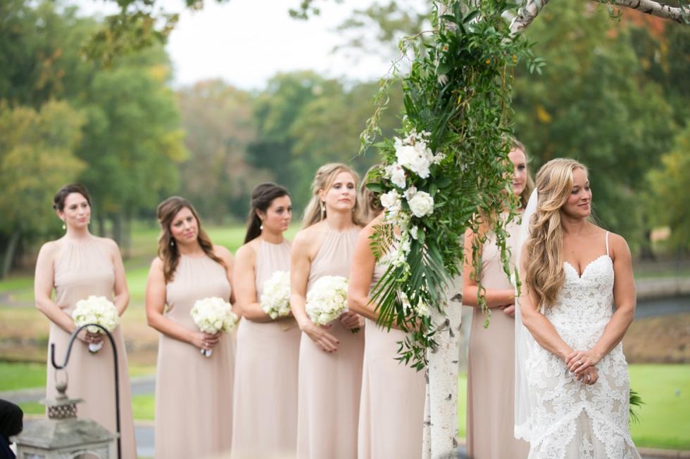 Philadelphia Wedding Photographer - Fiddlers Elbow Country Club NJ Wedding Ceremony