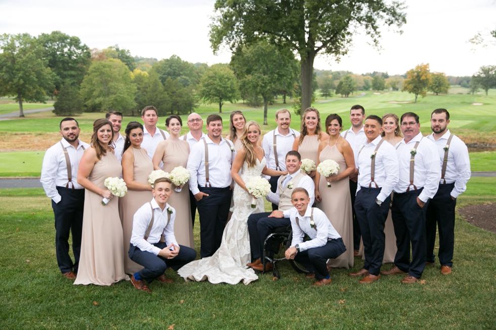 Philadelphia Wedding Photographer - Fiddlers Elbow Country Club NJ Wedding Party