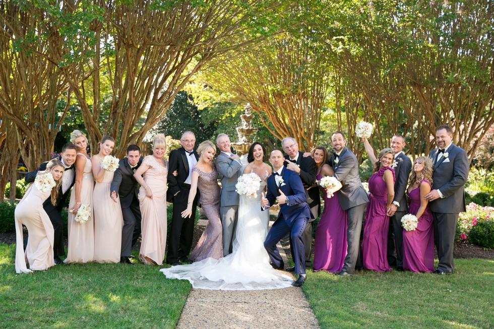 US Naval Academy Buchanan House gardens Wedding - Jade and David Kircus