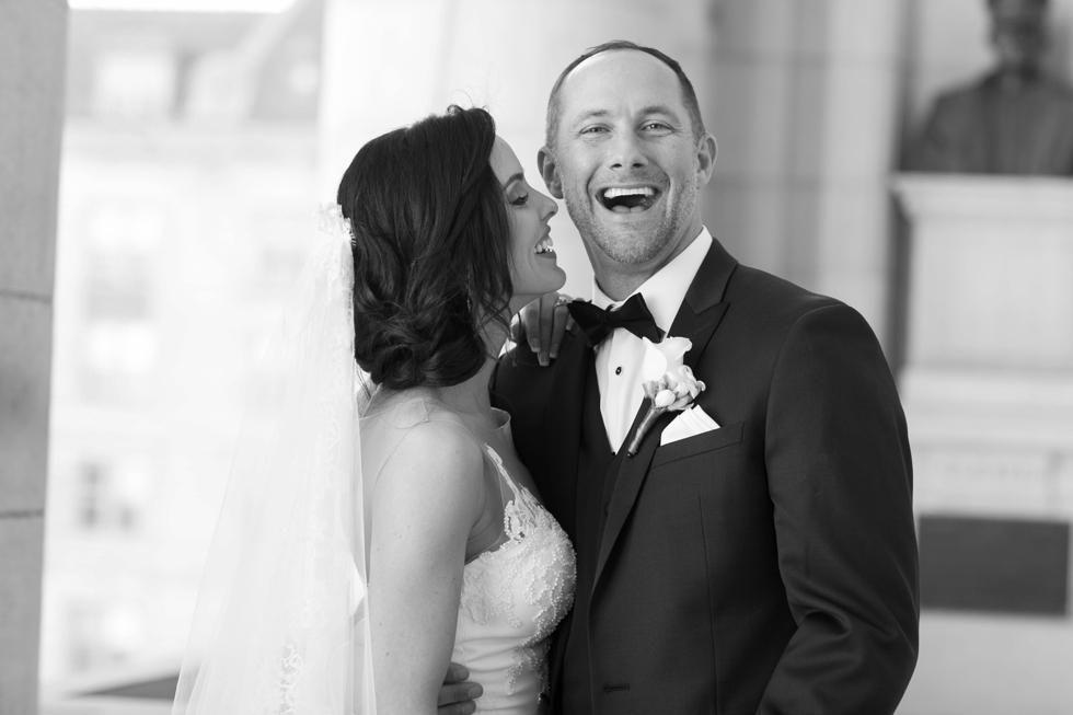 US Naval Academy Bancroft Hall - Pronovias bride