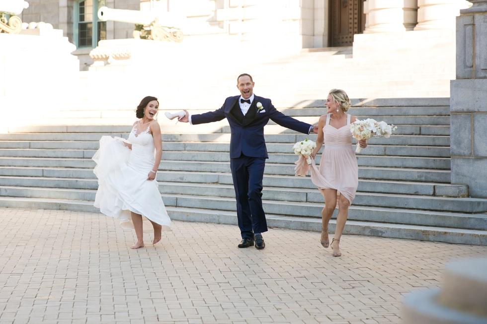 US Naval Academy Wedding Photographer - Jade and David Kircus