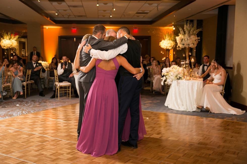 Destination Wedding Philadelphia Photographer - Westin Hotel Wedding Reception