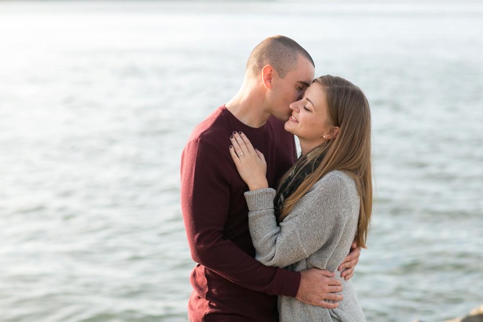 Barnegat Lighthouse Engagement Photographs - Philadelphia Wedding Photographer