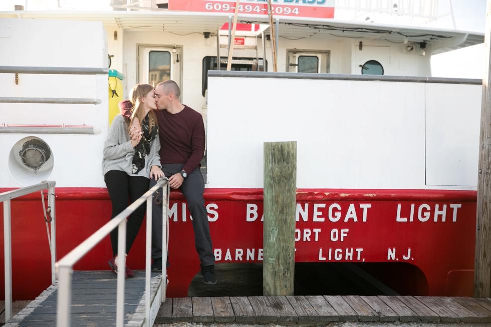 Barnegat Lighthouse Engagement Photographs - Barnegat Light NJ Wedding Photographer