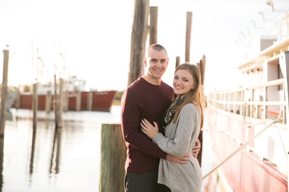 Barnegat Viking Villiage Engagement Photographs - Barnegat Light NJ Wedding Photographer