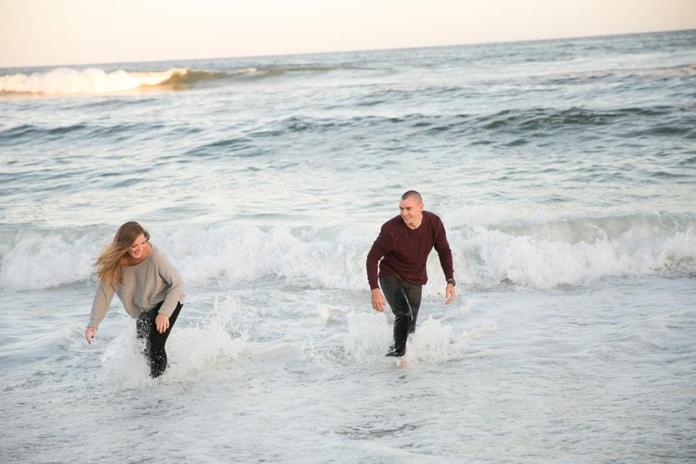 Surf City NJ Engagement Photographs - Long Beach Island NJ Wedding Photographer