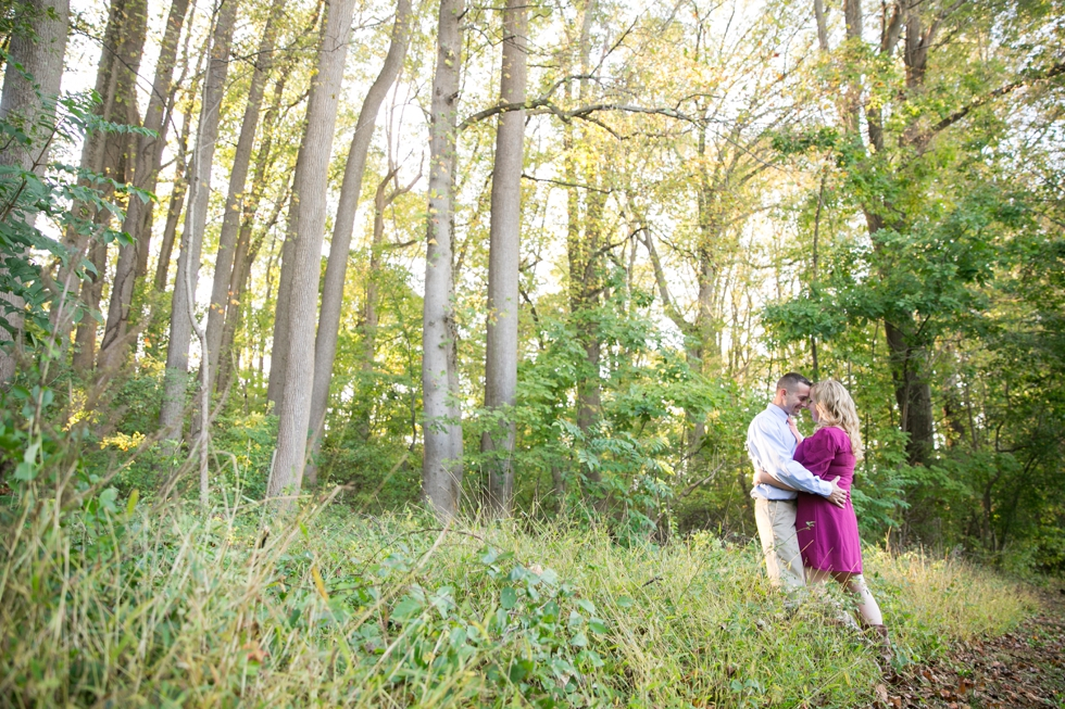 Wissahickon Valley Park - Fall Philadelphia Engagement Photographer