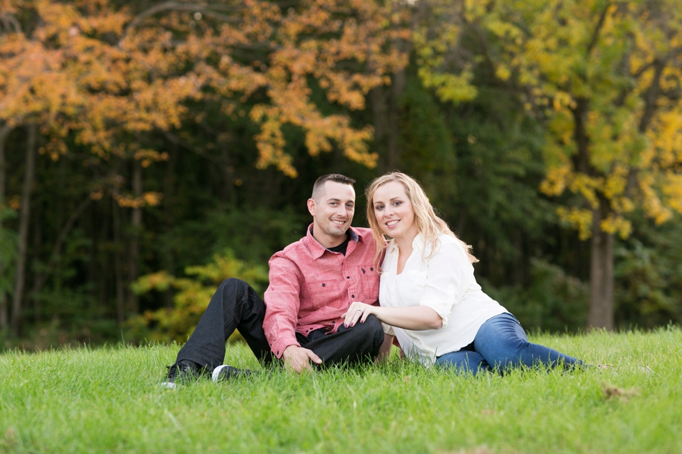 Wissahickon Valley Park - Fall Philadelphia Engagement Photography