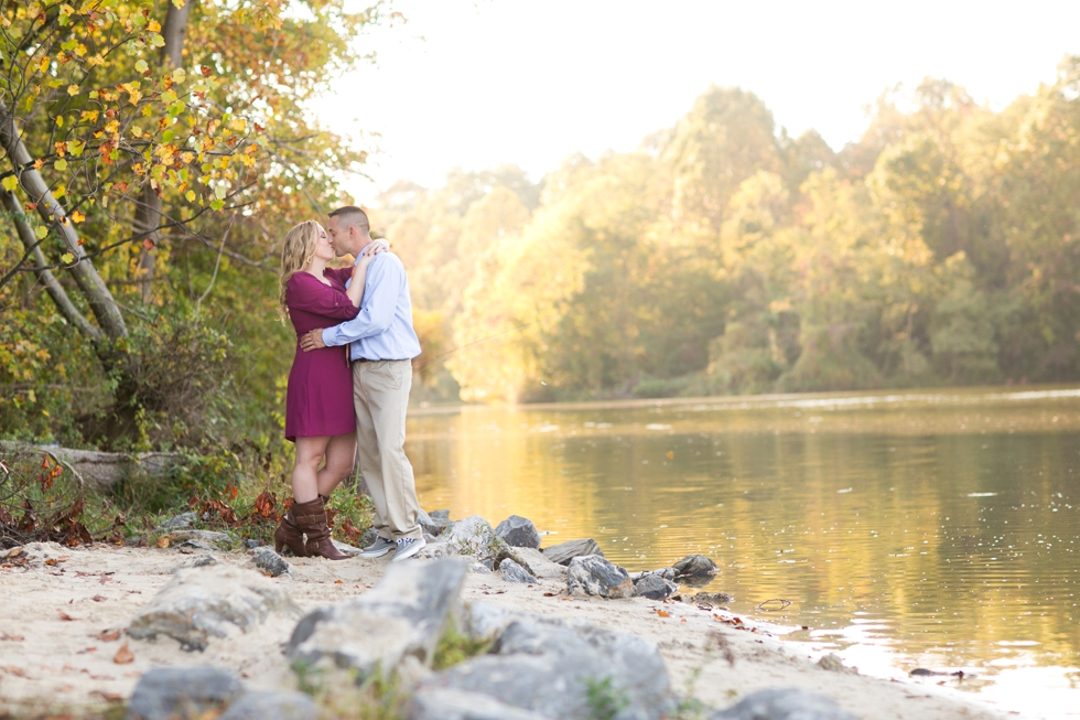 Lake Centennial Park - Maryland Engagement Photographer