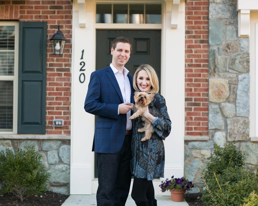 Annapolis Anniversary Photos with Dog