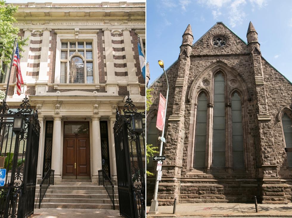 First Unitarian Church of Philadelphia Wedding Ceremony - Rittenhouse Square Photographer