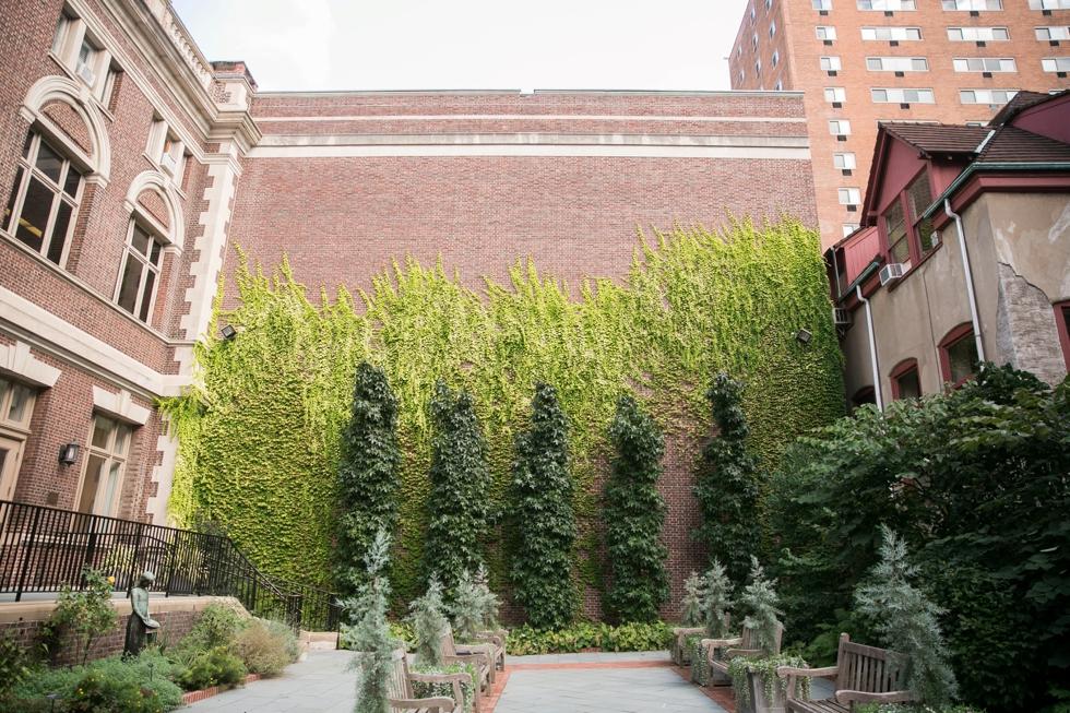 College of Physicians Philadelphia Wedding Venue - City Garden