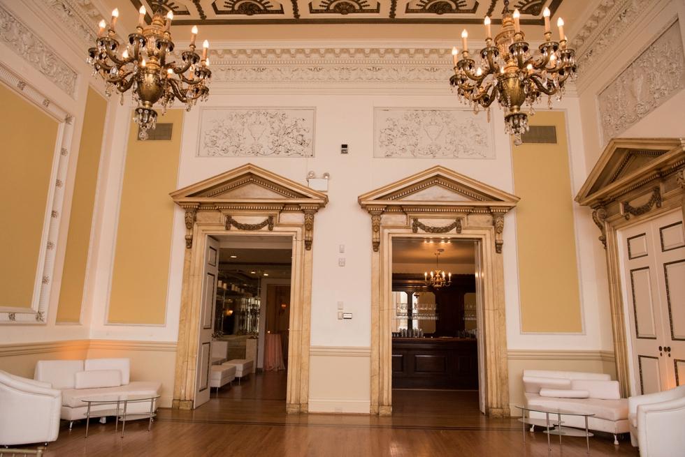 Stotesbury Mansion - Philadelphia Wedding Venue Photographer