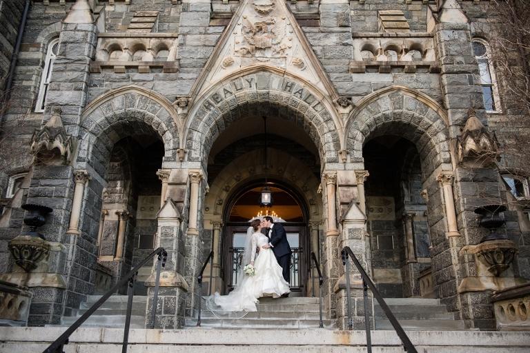 Healy Hall Georgetown University Wedding