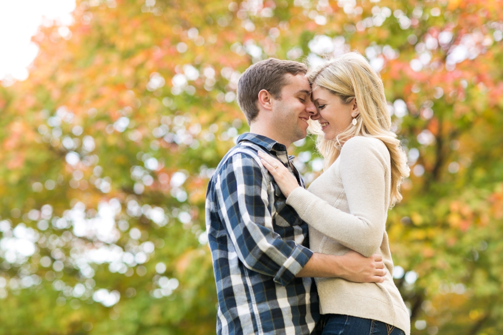 Fall Fort McHenry baltimore engagement - Destination Engagement Photographer in Philadelphia PA