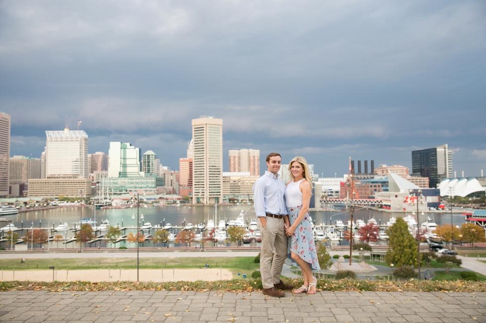 Federal Hill baltimore engagement - Destination Engagement Photographer in Philadelphia PA