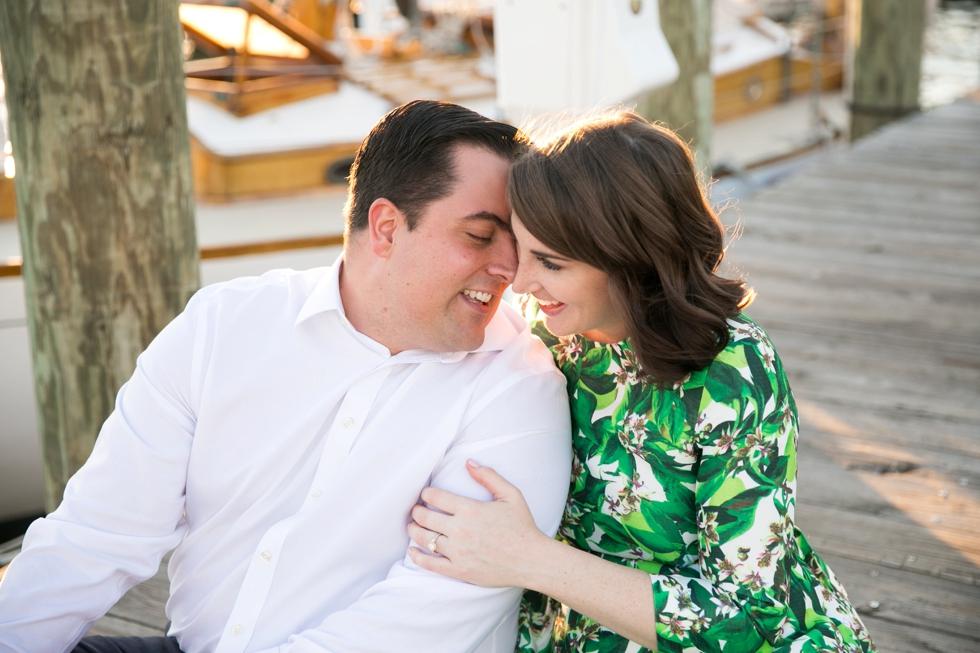 City Dock Annapolis Maryland Love Photos - Engagement Photographers in Philadelphia