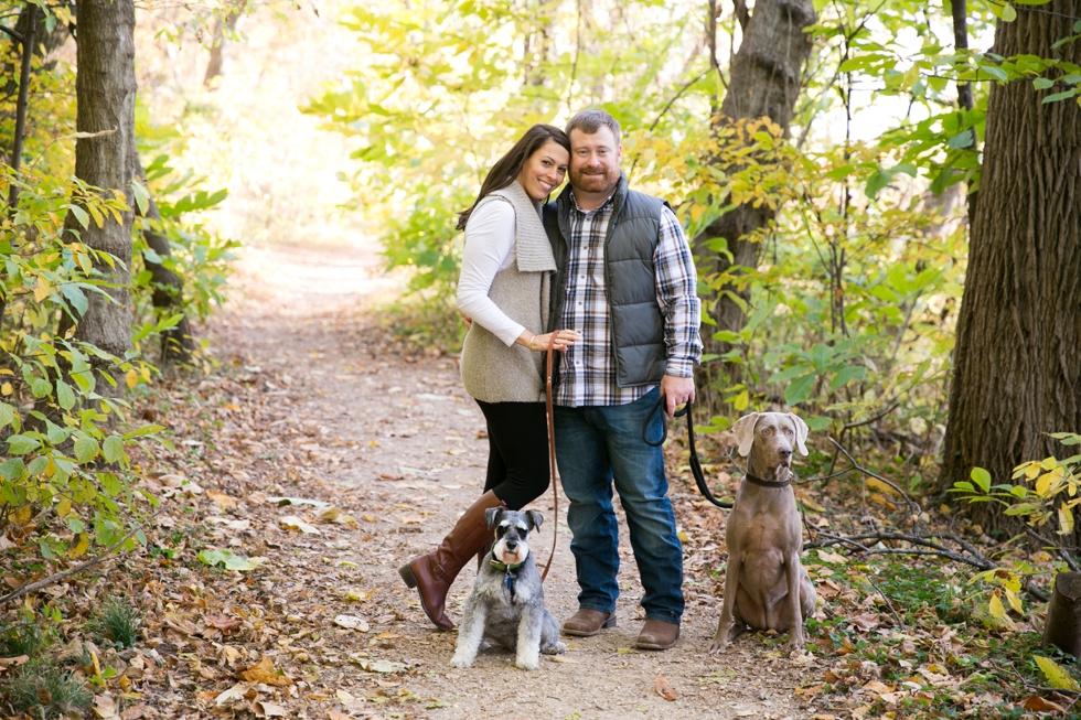 Roosevelt Island Dog Engagement - Traveling Philadelphia Engagement Photographers