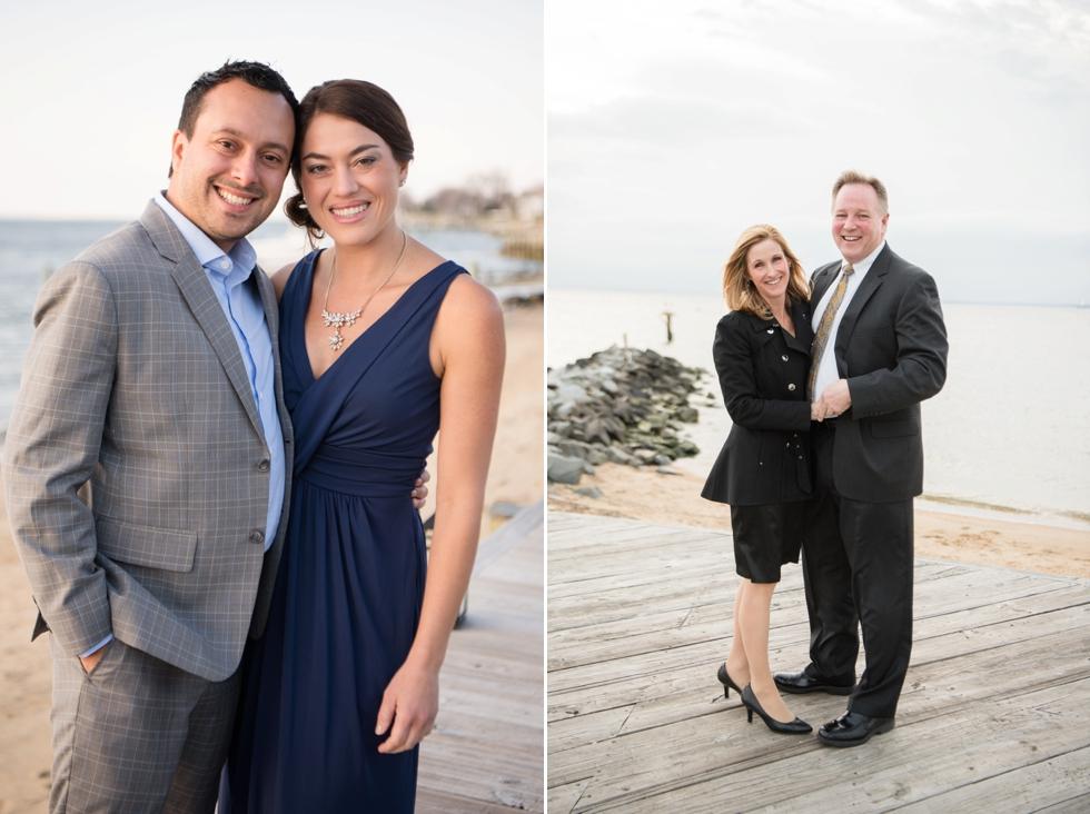Silver Swan Bayside wedding party - Eastern Shore Wedding Photographer