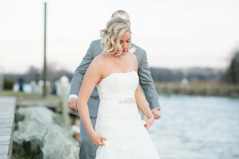 Silver Swan Bayside sunset - Philadelphia Wedding Photography