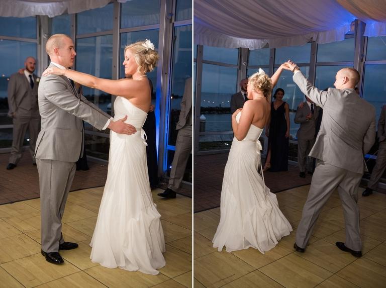 Silver Swan Bayside wedding reception - Eastern Shore Wedding Photographer