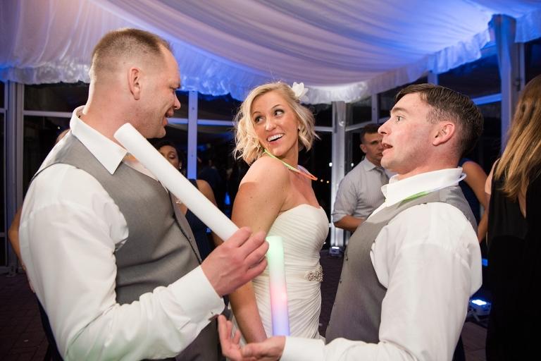 Silver Swan Bayside wedding reception - Wedding Photographer from Philadelphia