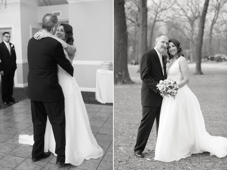 Intimate Maryland Wedding - Crofton Country Club Reception