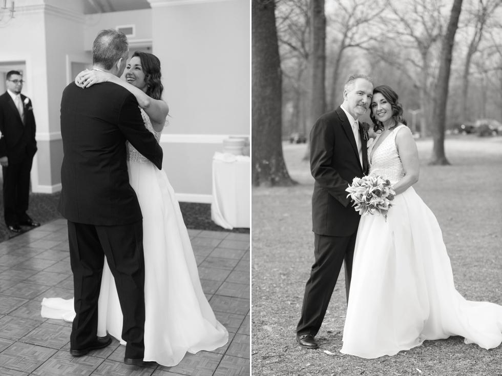 Intimate Maryland Wedding - Crofton Country Club Reception