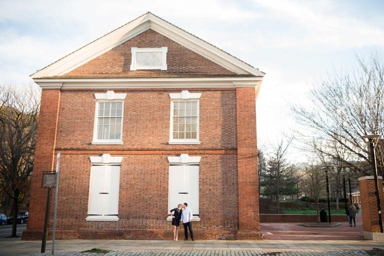 Philadelphia Independence Hall Engagement Photographer