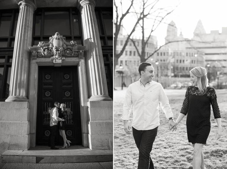 Arch Street FUEL Art gallery Philadelphia Engagement Photographer