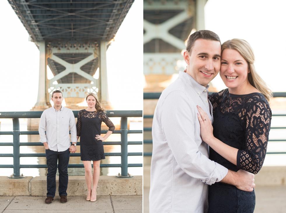 Race Street Pier Engagement Photography